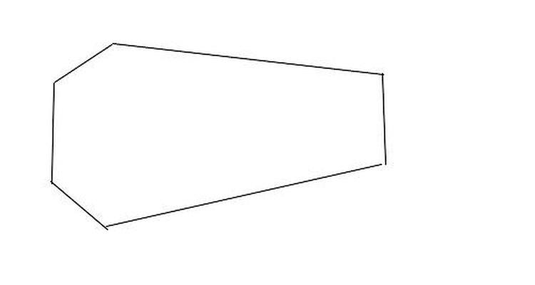 Desenhe um caixão de seis lados
