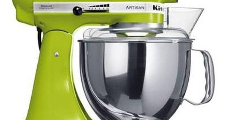 Una batidora es un electrodoméstico común de las cocinas modernas.
