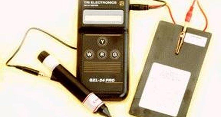 Testador eletrônico de platina