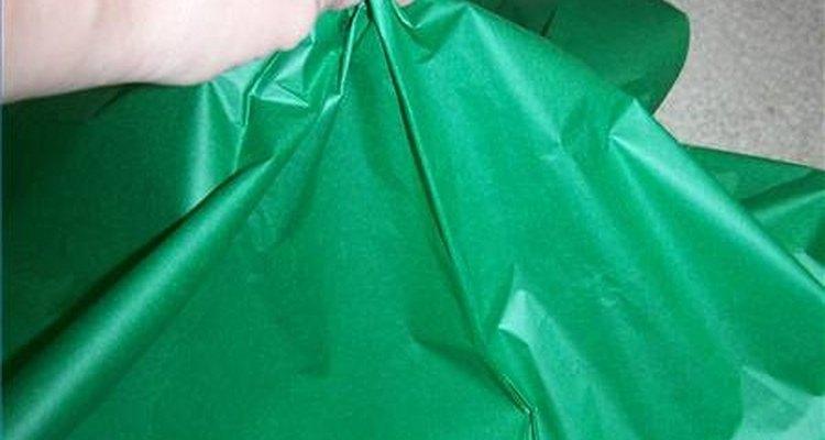 Veja como deve ficar o papel de seda