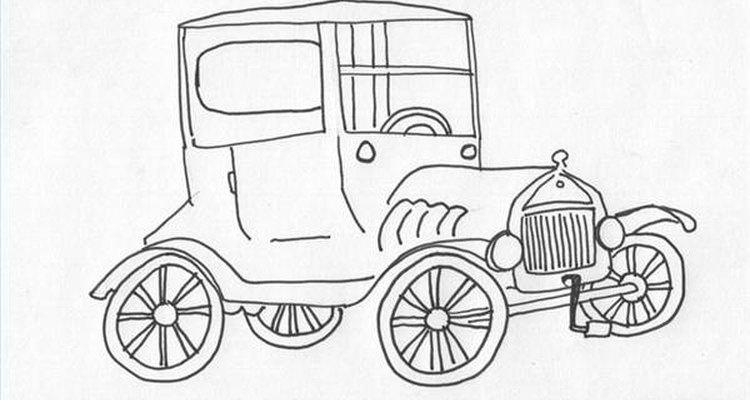 Faça uma miniatura do Ford T usando lata