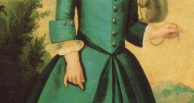 Membros da nobreza usavam vestidos elaborados