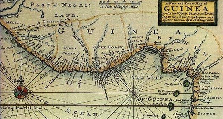 Ghana se ubica en la costa occidental de África.