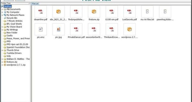 First File View