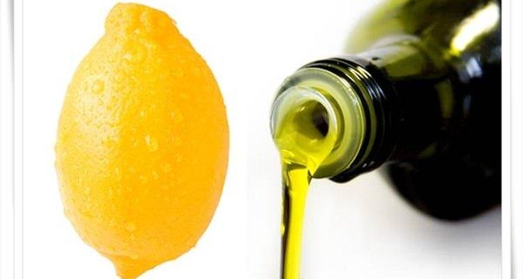 Limão e azeite