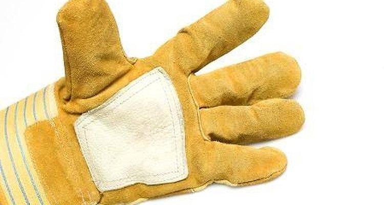 Luvas protegem suas mãos de arranhões
