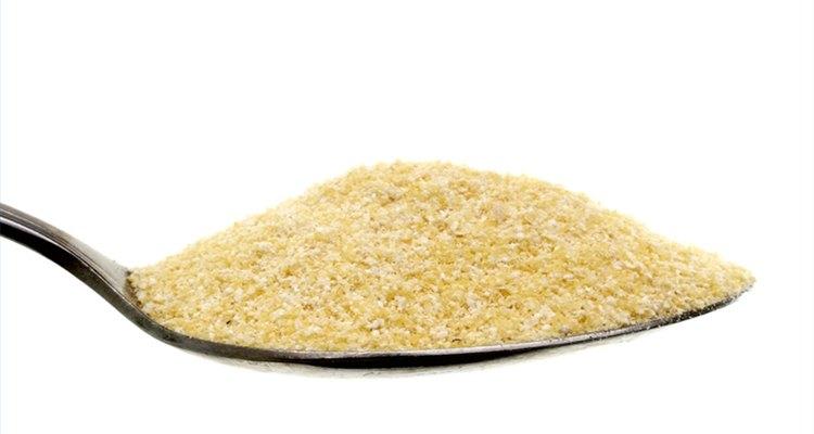 Cocinar harina de maíz