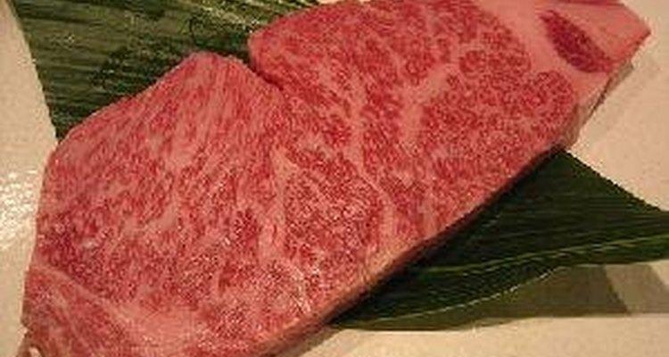 Un filete de carne Kobe, es un exquisito placer para cualquier amante de la carne.