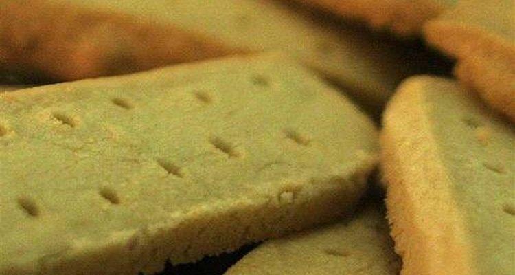 Receta clásica de galletas mantecadas.