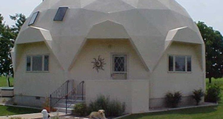 Diferentes domos necesitan diferentes materiales.