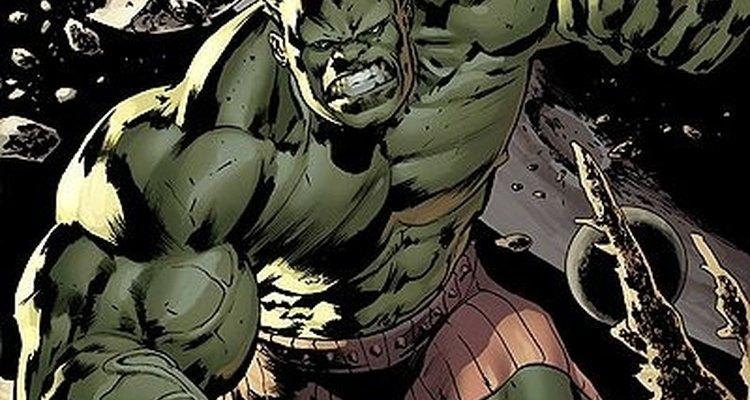 El Hulk es un personaje amado por muchos niños.