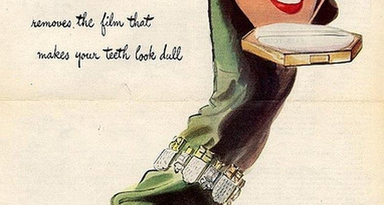 Propaganda da marca de pasta de dente Pepsodent