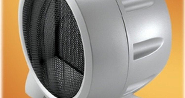 Los calentadores cerámicos vienen en muchas variedades, y son muy prácticos.