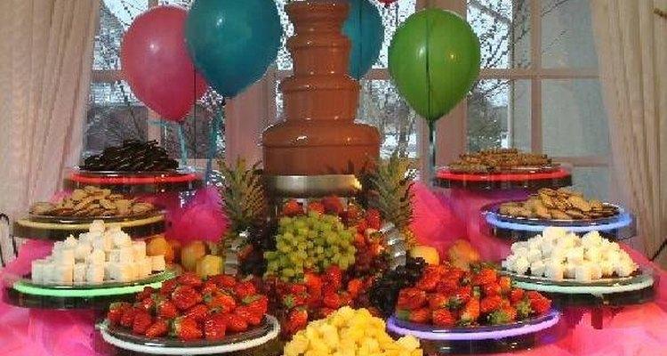 Ideas para fuentes de chocolate.