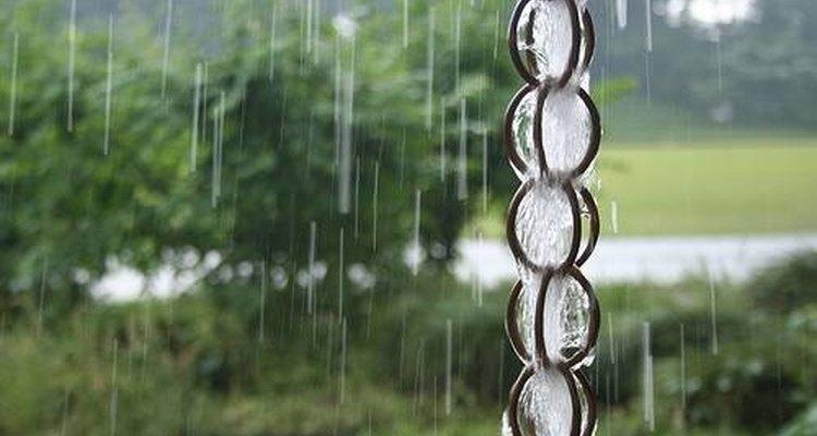 Os estilos de correntes para água da chuva são ainda mais variados do que os materiais