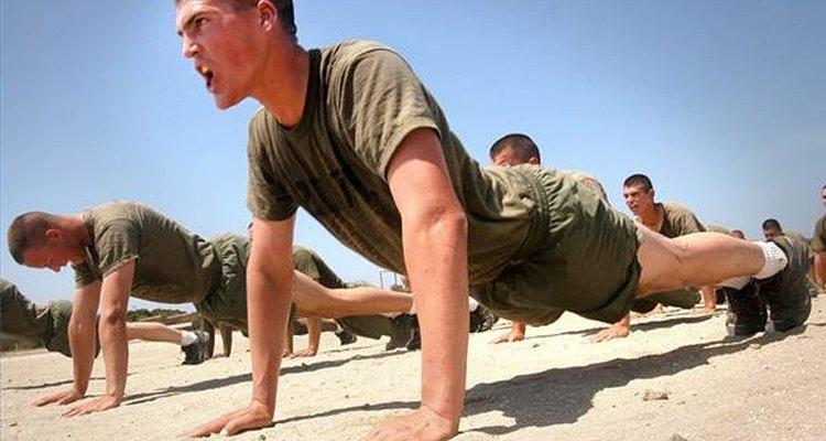 Existem treinamentos diferentes dependendo do quanto você exercita seus braços