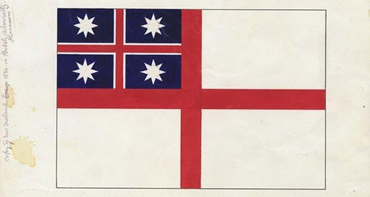 La bandera de Nueva Zelanda ha cambiado con el tiempo.