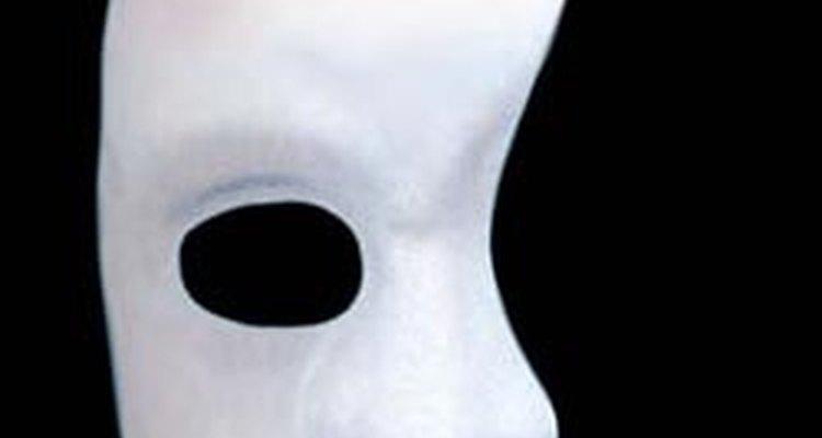 Máscara do fantasma da ópera