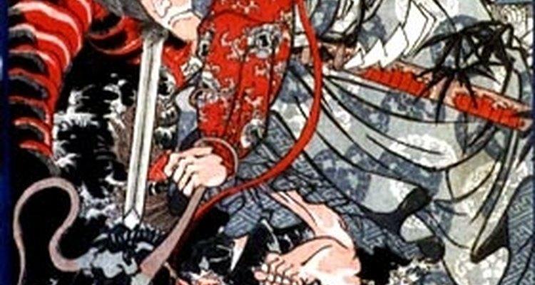 """Se menciona a muchos dragones en el """"Kojiki"""", el manuscrito más antiguo que sobrevive acerca del Japón antiguo, datado del 620 a.C."""