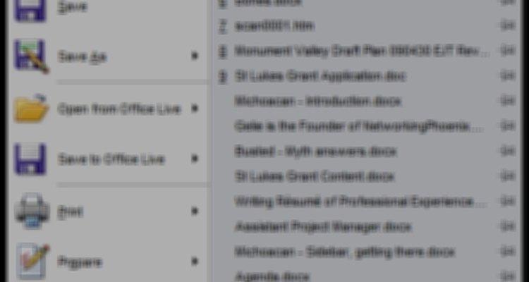 No botão do Office, escolha Opções do Word na parte inferior da janela
