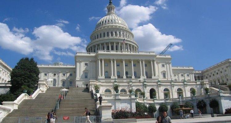 El Capitolio de los Estados Unidos es el edificio donde funciona el Congreso de los Estados Unidos.