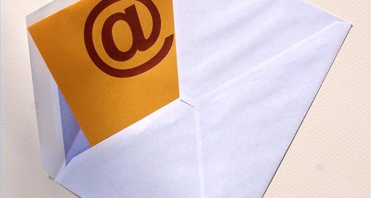 Recebendo um novo e-mail