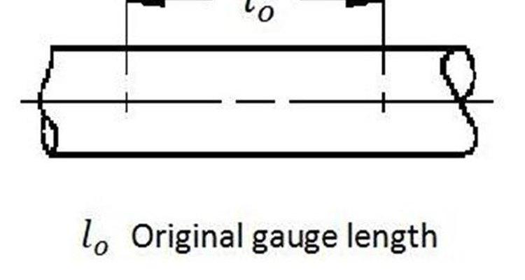 Medindo a distância entre as marcas de referência