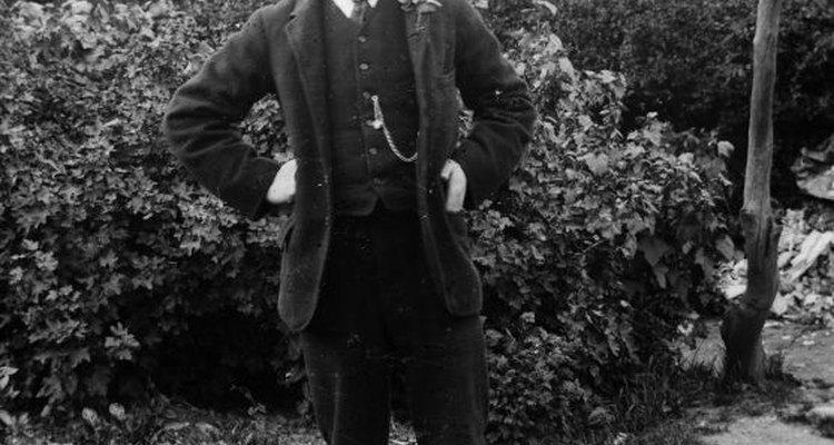 Os homens deviam vestir-se de trajes formais na Era Vitoriana