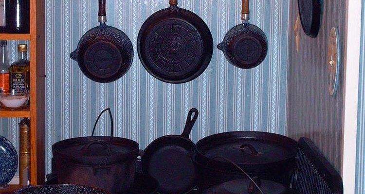 Los utensilios de hierro fundido pueden ser buenos para personas con deficiencia de este mineral.