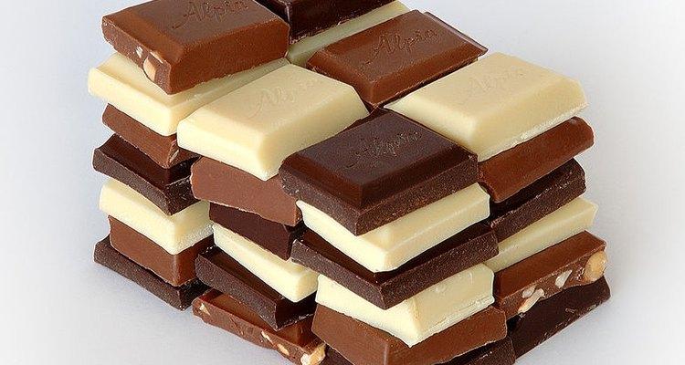 El chocolate comienza en los granos de cocoa.