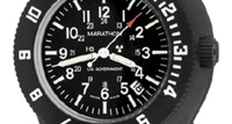 Há a possibilidade de uso de relógios comerciais no exército