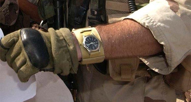 Relógios de pulso passaram a ser usados por militares na Primeira Guerra Mundial