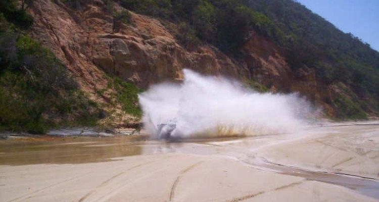 Água e óleo são soluções tradicionais para o problema da poeira