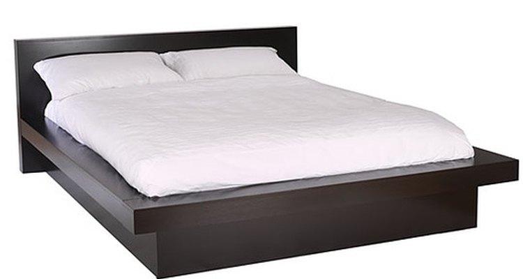 Un base para cama es fácil de constuir.