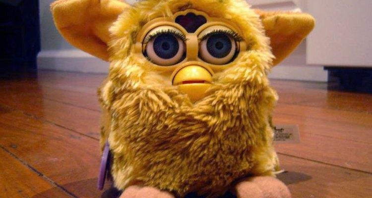 Modelo original de um Furby
