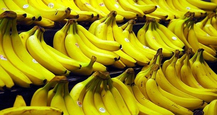 Bananas podem causar cólicas