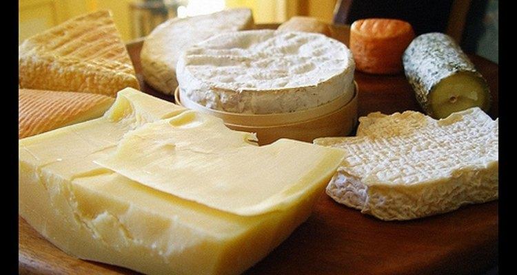 El queso puede tomar muchas formas.