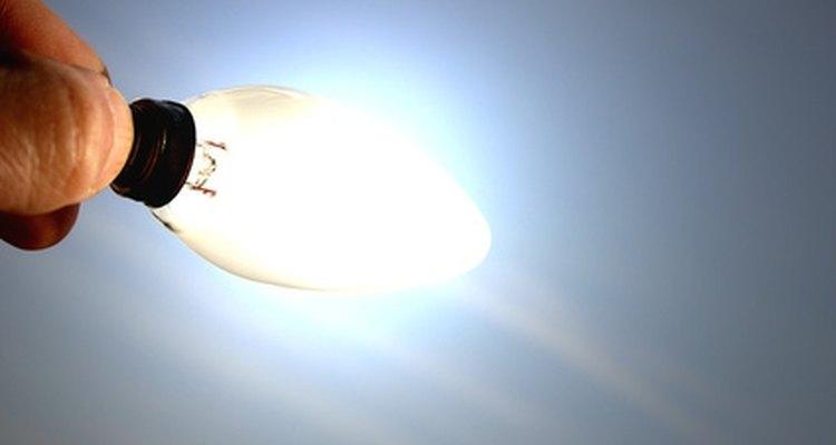 Conecte baterias para ligar suas lâmpadas