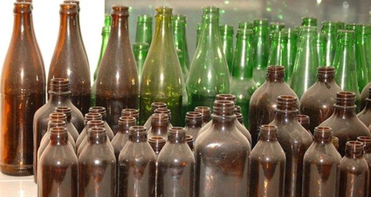 El vidrio reciclado tiene muchos usos.
