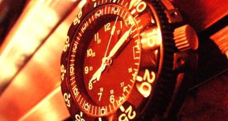 Configura el tiempo en tu reloj.