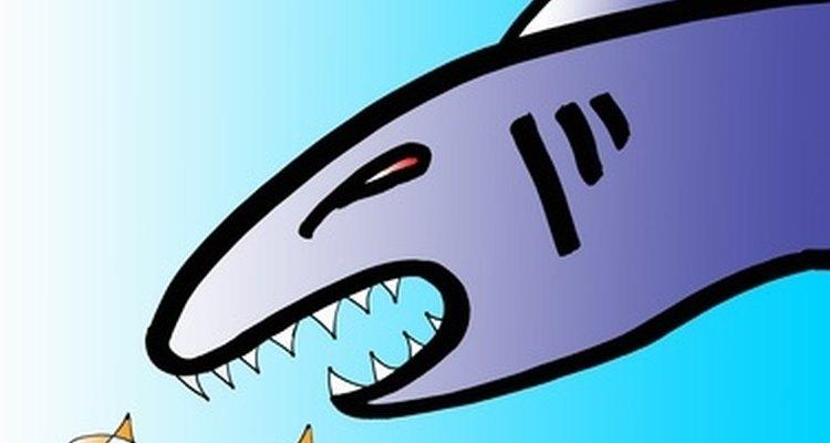 El disfraz de tiburón es una opción simple y divertida.