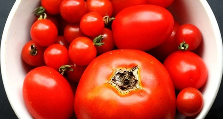 Tomatoes are very acidic.