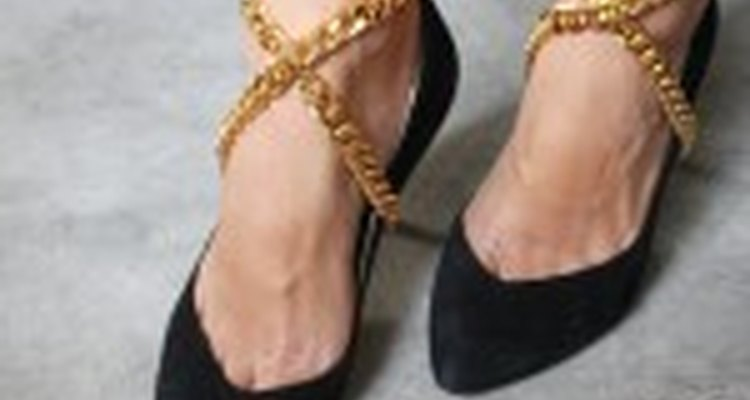 DIY Wrapped Shoe Chain