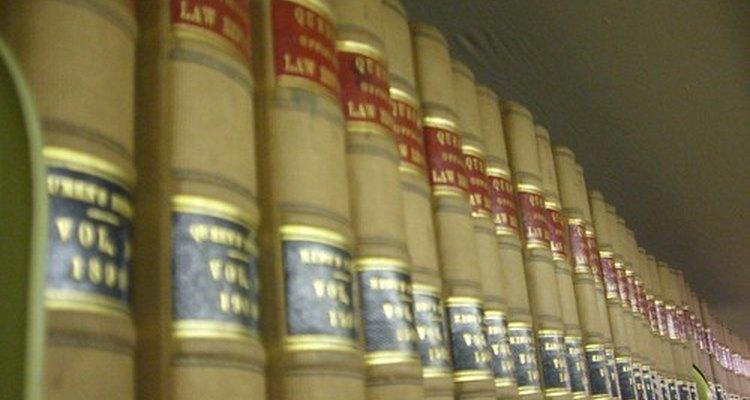 Civil law books.