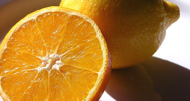 Limoeiros são angiospermas