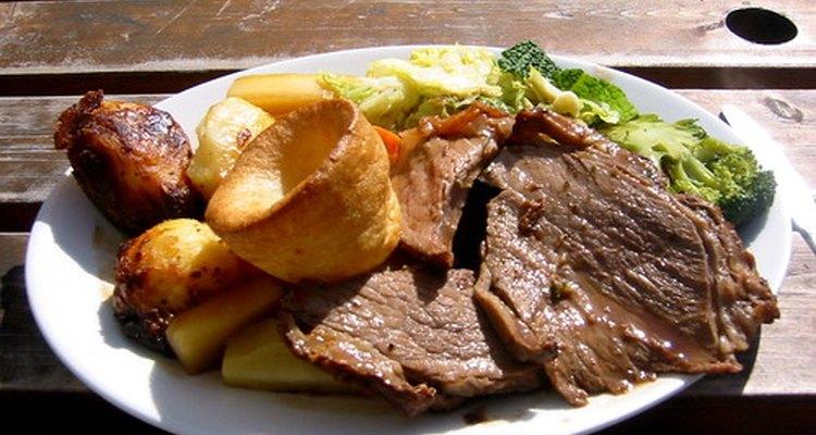 A carne é apreciada em vários pratos, formais e casuais