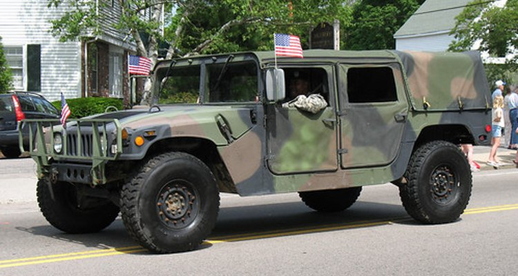 There are regulations restricting flag placement on convoy vehicles.