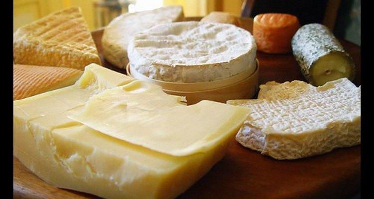 Um tipo de queijo