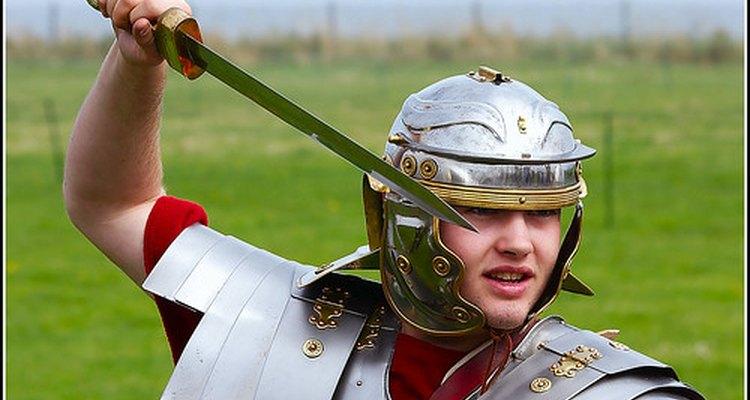 A educação física em Roma era, principalmente, para a preparação militar