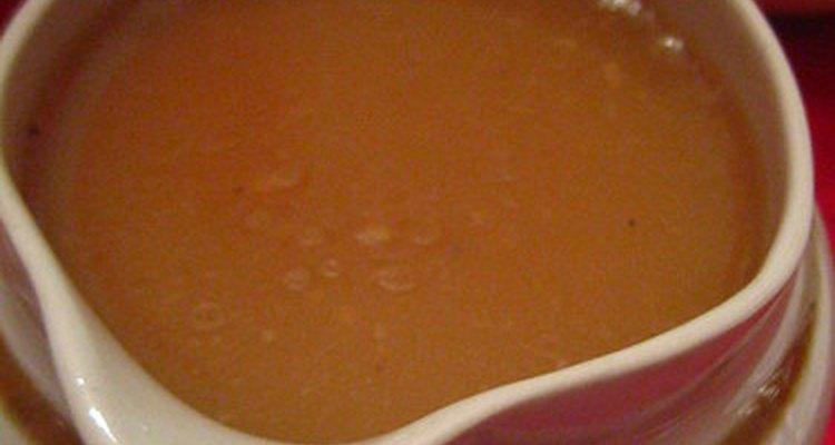 El almidón de maíz y la harina de arroz pueden utilizarse para espesar las salsas.